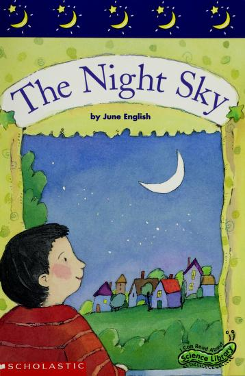 Cover of: The night sky | June English