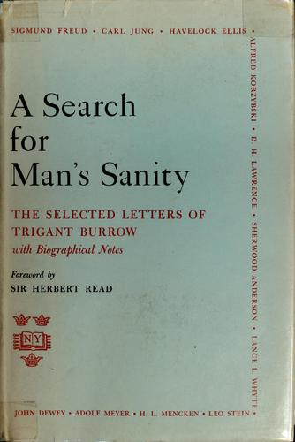 A search for man's sanity by Lifwynn Foundation (Westport, Connecticut)