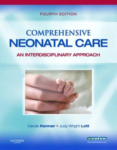 Comprehensive Neonatal Care by Carole Kenner