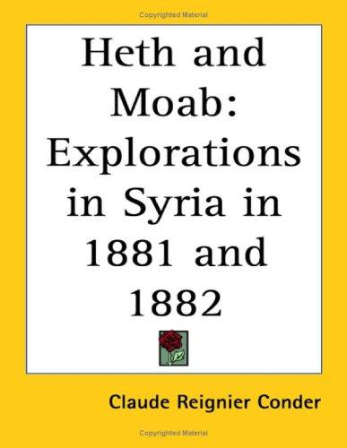 Heth And Moab