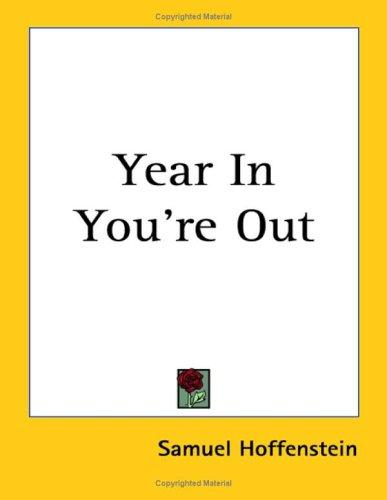 Year In You're Out