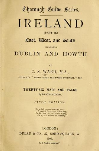 Ireland (part II) by Charles Slegg Ward