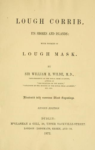 Lough Corrib by W. R. Wilde