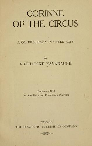 Corinne of the circus by Katharine Kavanaugh