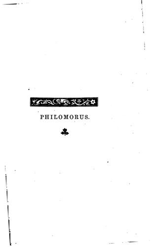 Philomorus: Notes on the Latin Poems of Sir Thomas More by John Howard Marsden