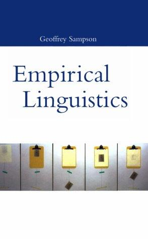 Empirical linguistics by Geoffrey Sampson