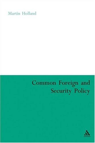 Common Foreign And Security Policy