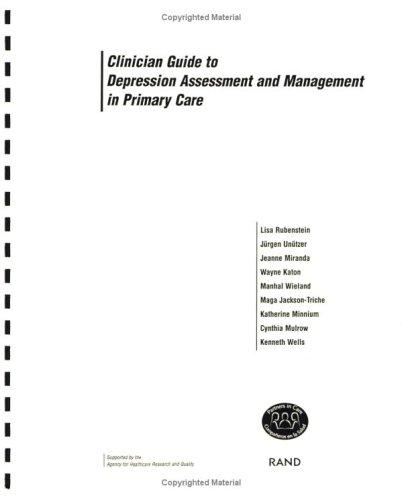 Clinician Guide to Depression Assessment and Management in Primary Care by Pic