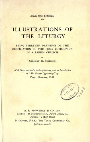 Illustrations of the liturgy