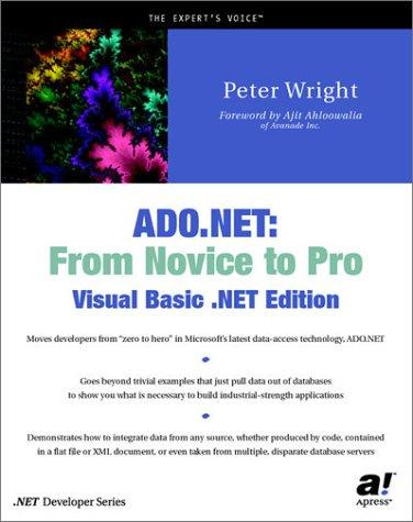ADO.NET by Peter Wright
