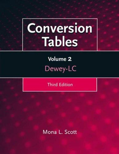 Conversion Tables, 3rd Edition